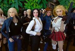 Jenna, Jayden & Lola (Blondeactionman) Tags: phicen playscale diorama dollphotography photography toys agentofbam bamhq onesixth onesixthscale