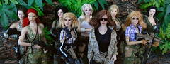 Delta Squad Extended. (Blondeactionman) Tags: phicen playscale onesixth onesixthscale dollphotography diorama agentofbam bamhq
