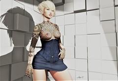 BIPOLAR... (zaziaa resident) Tags: arabictattoos rich zk dress samya