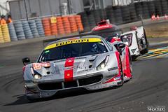 Testing day Le Mans 2019 - Ferrari 488 GTE #54 (Spirit of Race) Flohr / Castellacci / Fisichella (PandaStudio.fr) Tags: ferrari 24h lemans car cars pilote circuit canon canon100400 canon80d 80d michelin 2019