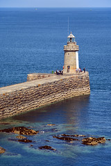 Castle Breakwater / Lighthouse (Images George Rex) Tags: stpeterport ci guernsey lighthouse castlebreakwaterlighthouse architecture bluesea granite breakwater imagesgeorgerex photobygeorgerex igr channelislands stpierreport 5ac18e8648bbb23b54b948811bf304a7 georgian