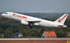 Corendon Airlines ZS-GAW Airbus A320-231 cn/054 Chartered from Global Aviation 05-2018 @ EBBR / BRU 18-08-2018 (Nabil Molinari Photography) Tags: corendon airlines zsgaw airbus a320231 cn054 chartered from global aviation 052018 ebbr bru 18082018