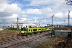 2 x DART treinstel 8500 Howth - Greystones  - Dun Laoghaire (Rene_Potsdam) Tags: ireland eire europe europa railroad treinen trains trenes züge spoorwegen dart dublin class8500 iarnródéireann dunlaoghaire