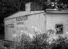 Old Decatur (cizauskas) Tags: old building decatur georgia blackandwhite monochrome canon canonfd legacylens manualfocus fotodiox