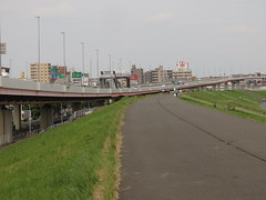 IMG_7227 (fromstjohnstovictoria) Tags: サイクリング 荒川 首都高