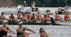 May 31, 2019:  NCAA women's rowing championships, Division I-I Eights Heat 2, Brown boat (carpingdiem) Tags: ncaawomensrowingchampionships rowing 2019 eaglecreekpark brown heats