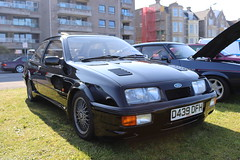 Ford Sierra RS Cosworth D439DFH (Andrew 2.8i) Tags: classics meet show cars car classic weston westonsupermare euro european fordofeurope hatch hot hatchback turbo cosworth rs sierra ford