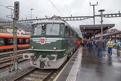SBB Ae 6/6 11407 Aarau at Arth Goldau (daveymills37886) Tags: sbb ae 66 11407 aarau baureihe historic arthgoldau arth goldau