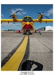 Canadair CL-215T (Ignacio Ferre) Tags: canadaircl215t ejércitodelaire spanishairforce getafe legt madrid españa spain nikon spotting aeronave aircraft airplane avión aviation aviación