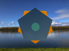coloroctagon (Keagan O) Tags: bridgepreferenceslabelgreenapproved photoshop color lines shapes invert