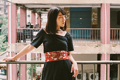 https://www.facebook.com/kakufoto/ (カク チエンホン) Tags: contax fujifilm girl g2 g45 portrait people taiwan taipei