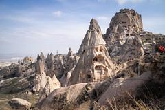 Uçhisar (pietkagab) Tags: uchisar cappadocia turkey turkish castle mountain rock carved day sky sunny landscape asia asian pietkagab photography piotrgaborek travel trip tourism trekking trek town ancient sonya7 sightseeing adventure