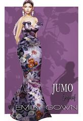 Emily Gown AD (junemonteiro) Tags: jumo originals chic glamour gown satin maitreya belleza slink