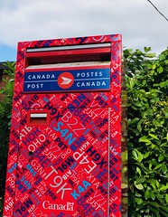 O Canada (ruthlesscrab) Tags: post mail letter box canada werehere wah hereios