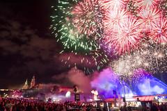 Parada smokow 2019 - Dragon parade (lulo92) Tags: nikon top polska poland pl cracovia krakow light color colors fire firework fireworks castle wawel nikontop nikonpl nikonpolska samyang river wisla