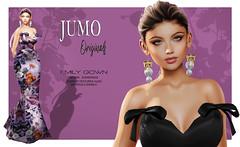 Emily Gown (junemonteiro) Tags: jumo originals chic glamour gown satin maitreya belleza slink