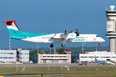 Luxair Bombardier Dash 8 Q400 LX-LQC | Milano - Malpensa (MXP-LIMC) | 31st May 2019 (Brando Magnani) Tags: turboprop aviationphotography aviation airport airplane airline aircraft malpensa landing bombardierdash8q400 bombardier luxair