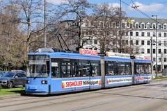 MUE_2162_201903 (Tram Photos) Tags: aeg gt6n r22 niederflur münchen munich swm tram tramway strasenbahn