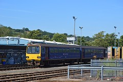 143619, Exeter St Davids (JH Stokes) Tags: 143619 class143 pacer railbus exeter exeterstdavids trains railways gwr greatwesternrailway