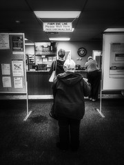 Patience. Windsor, ON. (Paul Thibodeau) Tags: photooftheday windsor iphone8plus iphoneography streetphotography blackandwhite monochrome