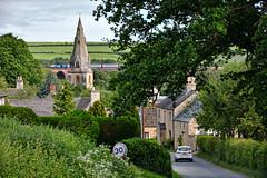 Village Idyll (whosoever2) Tags: uk united kingdom gb great britain nikon d7100 train railway railroad may 2019 hst eastmidlands harringworth village rutland viaduct