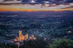 San Francesco (Norlews) Tags: assisi sanfrancesco umbria sunset church église basilique tramonto