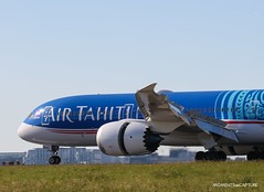 Boeing 787-9 Air Tahiti Nui (Moments de Capture) Tags: boeing 7879 airtahitinui 787 b787 dreamliner aircraft plane avion aeroport airport spotting lfpg cdg roissy charlesdegaulle onclejohn canon 5d mark3 5d3 mk3 momentsdecapture