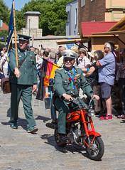 Sachsen-Anhalt-Tag in Quedlinburg (Helmut44) Tags: deutschland germany sachsenanhalt quedlinburg sachsenanhalttag festumzug feier motorrad motorcycle kostüme historisch personen menschen ddr volkspolizei