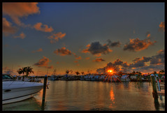 Sunset (5-16-19) (Grace Courbis) Tags: sunset sunsets sunsetflorida sunsetpier water ocean marina pilothousemarina cloud clouds sky dusk florida floridakeys