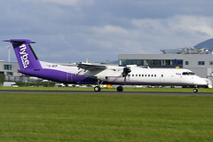 G-JECP DHC-8-402 EGPH 02-06-19 (MarkP51) Tags: gjecp dehavillandcanada dhc8402 dhc8 dash8 flybe be bee edinburgh airport edi egph scotland aviation airliner aircraft airplane plane image markp51 sunny planeporn nikonafp70300fx nikond500 sunshine nikon d500