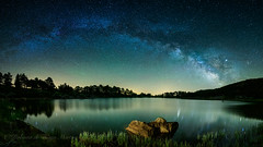 Laguna de los Patos (Roberto_48) Tags: ngc laguna lagunas neila patos quintanar sierra soria via lactea estrellas noche nocturna stars milky larga exposicion
