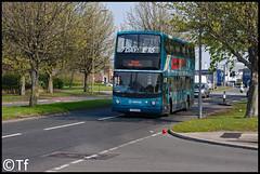 Arriva North West - CX06 EAM (Tf91) Tags: arriva arrivamerseyside arrivanorthwest arrivabus liverpool liverpoolbuses speke 81 81a volvo b7tl alexander dennis alx400 cx06eam 4116