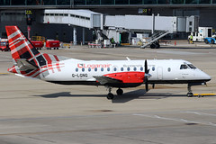 G-LGNG (GH@BHD) Tags: glgng saab saab340 log loganair stn egss londonstanstedairport standsted airport aircraft aviation airliner turboprop