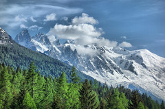 Mont Blanc (denismartin) Tags: denismartin alps alpes hautesavoie chamonix montblanc mountains nature landscape france hikingtrail hiking cloud