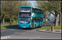 Arriva North West - MX61 AXG (Tf91) Tags: arriva arrivamerseyside arrivanorthwest arrivabus liverpool liverpoolbuses speke 81 81a vdl vdlbus wright gemini2 mx61axg 4466
