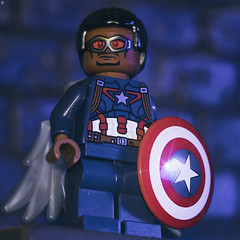 Sam Wilson is the new Captain America (Jezbags) Tags: captainamerica samwilson macro macrophotography macrodreams macrolego marvel marvelstudios avengers endgame canon canon80d 80d 100mm lego toy toys