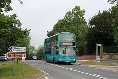 Arriva The Shires 4017 0725hrs Maids Moreton to Aylesbury 310519 (return2layerroad) Tags: arriva maidsmoreton aylesbury padbury volvob7tl wright uui2913 lj51dfo buckinghamshire