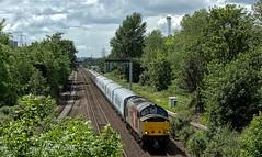 Shrink Wrapped Stock (Wulfruna Kid) Tags: 37611 pegasus class37 englishelectric railoperationsgroup rog cafmark5 coaches transpennineexpress castlebromwich 2019