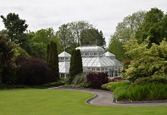 Hot House (Bill Eiffert) Tags: greenhouse straight hothouse park local flowers gardens trees lawn