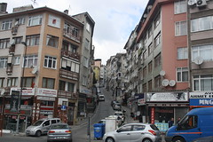 Uskudar District (lazy south's travels) Tags: istanbul turkey turkish uskudar district building architecture flat apartment shop road street scene urban asian side