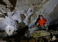a l'intérieur de la Grotte de Sous Revier -Myon (francky25) Tags: lintérieur de la grotte sous revier myon franchecomté doubs