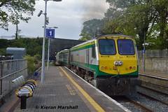 217 departs Thurles, 19/5/19 (hurricanemk1c) Tags: railways railway train trains irish rail irishrail iarnród éireann iarnródéireann 2019 generalmotors gm emd 201 thurles 217 1725corkheuston