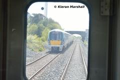 22029 at Kilbarry, 19/5/19 (hurricanemk1c) Tags: thecorkstopper bls branchlinesociety railways railway train trains irish rail irishrail iarnród éireann iarnródéireann 2019 class2600 commuter tokyucarcorp 1040cobhmallow 22000 rotem icr rok 4pce 22029 kilbarry 1045mallowcork