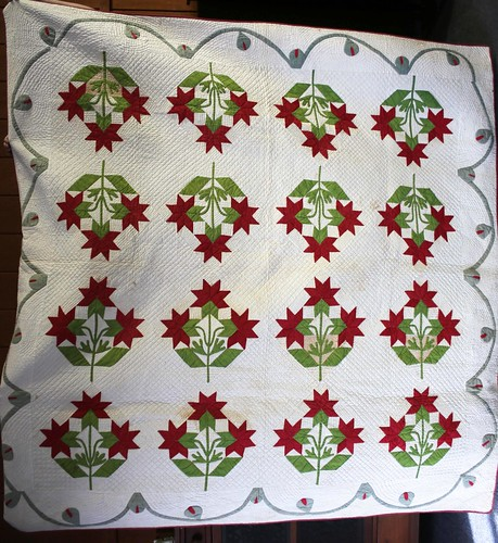 Early Pieced Quilt - Carolina Lilly ($302.40)