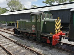 BR Class D2/12 D2511 - Oxenhope (dwb transport photos) Tags: britishrailways shunter d2511 oxenhope keighleyworthvalleyrailway
