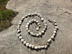 spiral (mchurruca) Tags: shapes stone sculpture spiral concept abstract