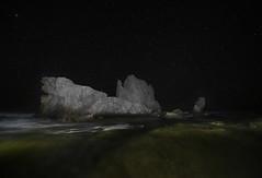 _DSC0001 (fjsmalaga) Tags: ngc noche nocturna mar playa submarino roca estrellas