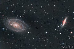 M81 and M82 Galaxies in RGB (Simon Todd Astrophotography) Tags: m81 m82 bodesgalaxy cigargalaxy ursamajor galaxies ifn inter flux nebula space deepsky deepspace qhyccd qhy183m qhy5lii skywatcher quattro 8cf pixinsight sequencegeneratorpro longexposure astrophotography astronomy ukastronomy coldmos eq8pro equatorial eqmod pegasusastro baader starlightxpress primalucelabs robo focuser spiral starburst