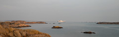 dfds (helena.e) Tags: helenae motorhome husbil rv älsa fotö water vatten klippor cliff cliffs sunset solnedgång