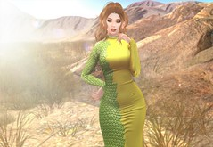 They Say I'm Toxic (EnviouSLAY) Tags: riot got gameofthrones game of thrones scales dress regal elegant dragon eyes green yellow orange lipstick makeup eyeshadow skinnery pinkfuel pink fuel newreleases new releases desertscene desert scene secondlifefashion secondlifephotography dracarys thefinalwinter the final winter access belleza freya bento genus classic doux brunette long hair longhair bangs monthlyevent monthlyfashion monthlyfair fantasyevent fantasyfair fantasyfashion fantasy fair monthly event fashion pale female male gay lgbt blogger second life secondlife photography